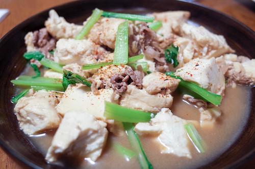 20180514小松菜豆腐豚肉