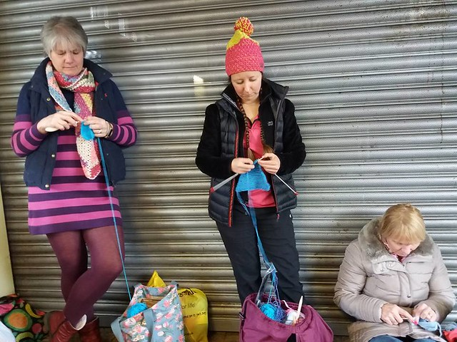 2018-04-03 Station knitting