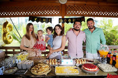 Lena Yavuzcan, Sevda Kılınç, Alican Kılınç, Serdar Yavuzcan.