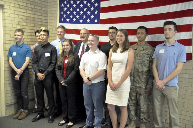 Rosemount HS Military Ceremony