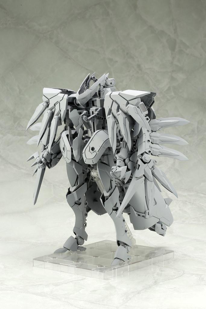 壽屋 M.S.G『GIGANTIC ARMS 巨神機甲』07 路西法之翼(ギガンティックアームズ ルシファーズウイング)原型公開!