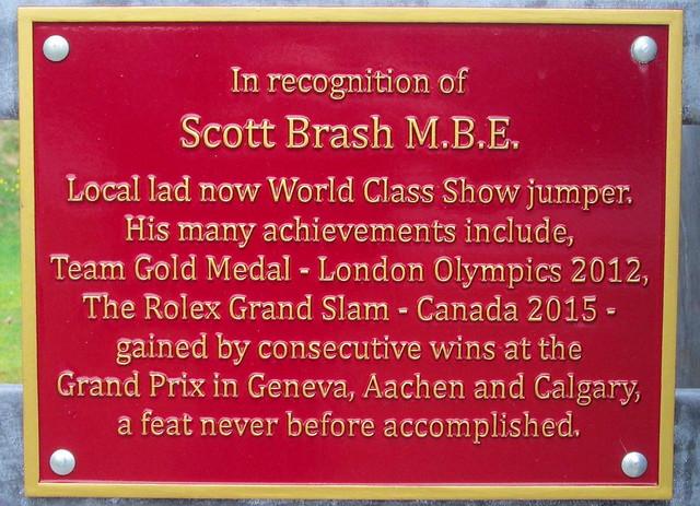 Dedication, Horse Sculpture Peebles