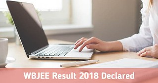 WBJEE Result Declared