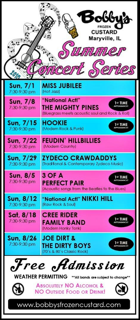 Bobbys_Summer_Concert_Series 7-1-18