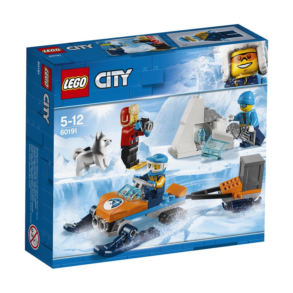 60191 City Arctic Exploration Team