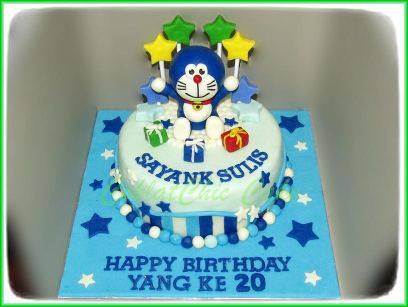 Cake Doraemon SULIS 15 cm
