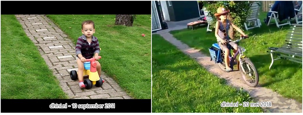 Djess toen en nu