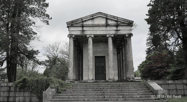 understated mausoleum