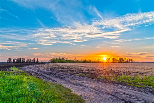 sun light sky color new nature landscape nikon trail path trees clouds
