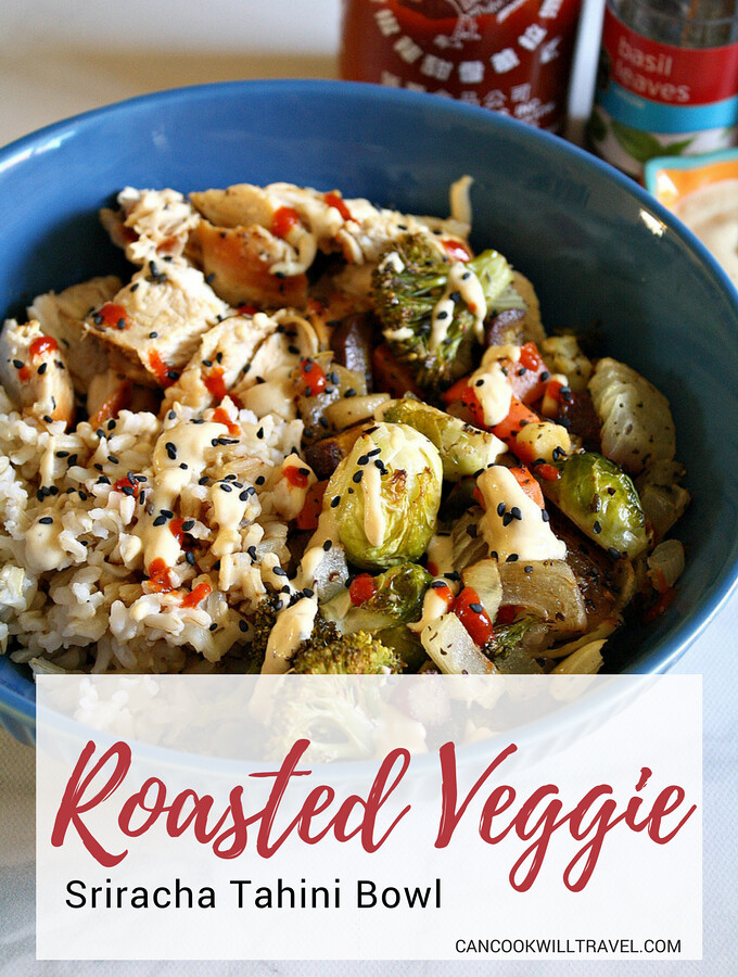 Roasted Veggie Tahini Bowl