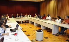 Vice-Prefeito Paulo Lamac recebe visita de delegação do governo de Guiné Bissau