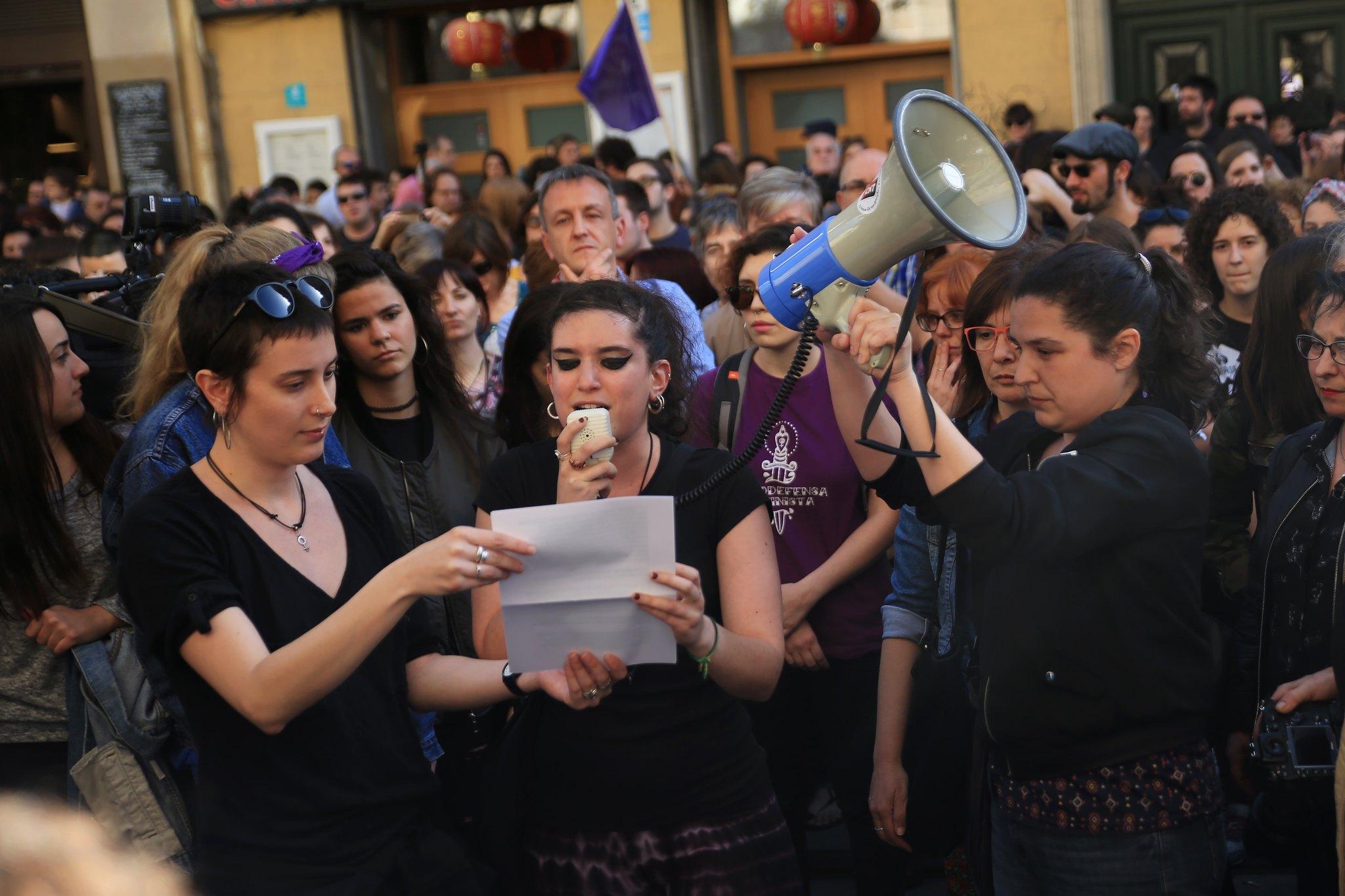 Manifestación La Manada Zaragoza (7)