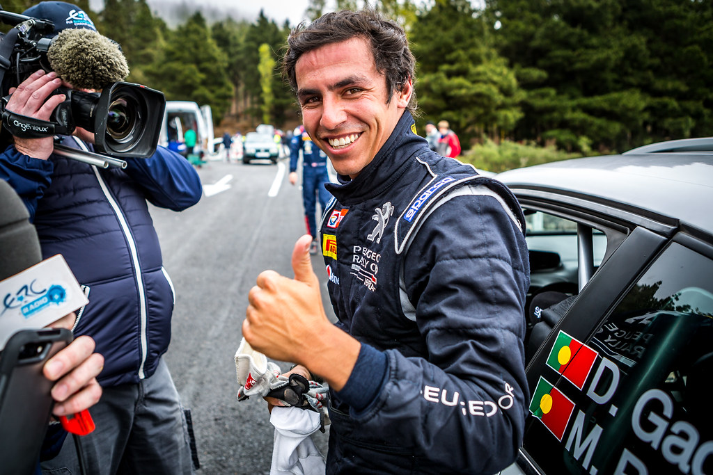 GAGO Diogo, RAMALHO Miguel, Peugeot 208 R2, portrait during the 2018 European Rally Championship ERC Rally Islas Canarias, El Corte Inglés,  from May 3 to 5, at Las Palmas, Spain - Photo Thomas Fenetre / DPPI