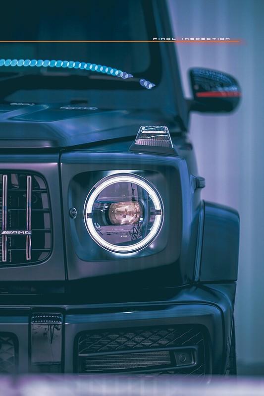 Mercedes-Benz G63 : Matte Black : Bespoke