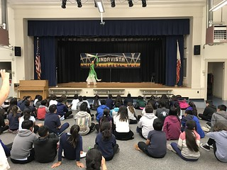 May 7' 18 CISDSU Introduces Chinese Culture to Linda Vista Elementary School