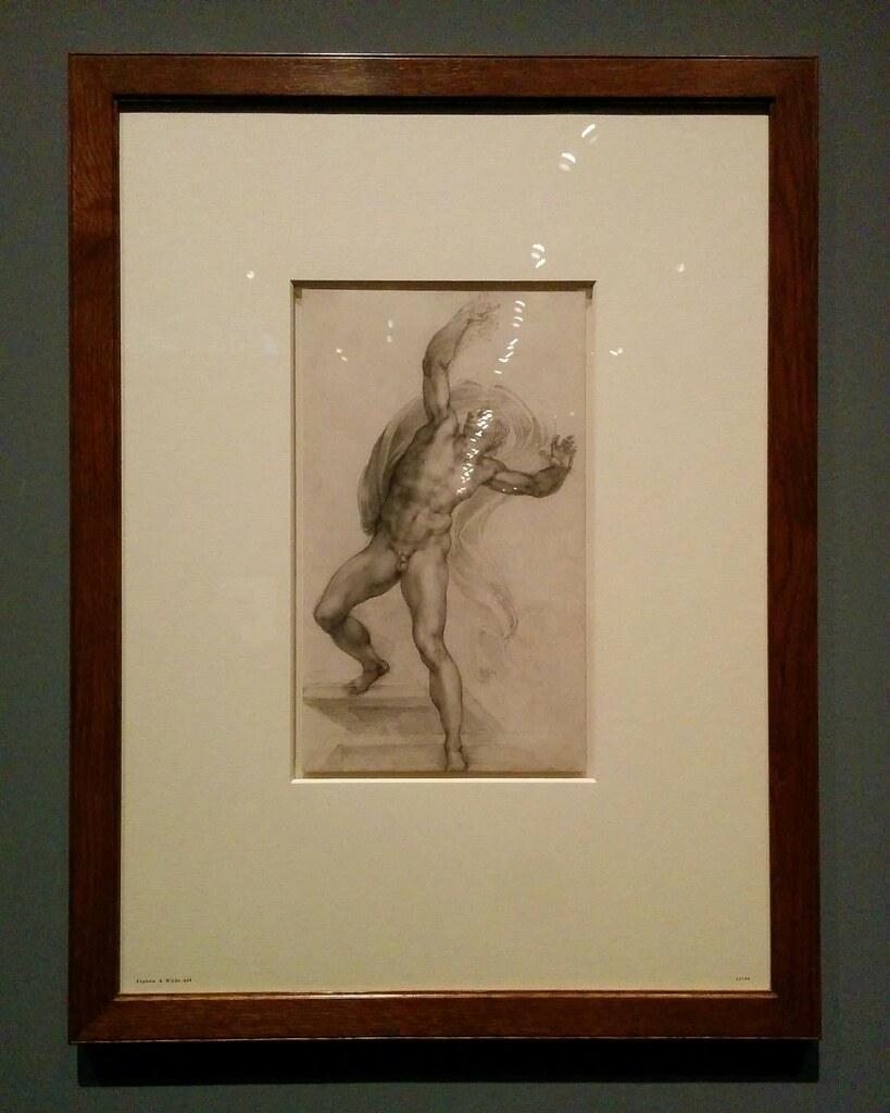 Study of a Scene of the Resurrection #newyorkcity #newyork #metmuseum #metmichaelangelo #michaelangelo #drawing #latergram