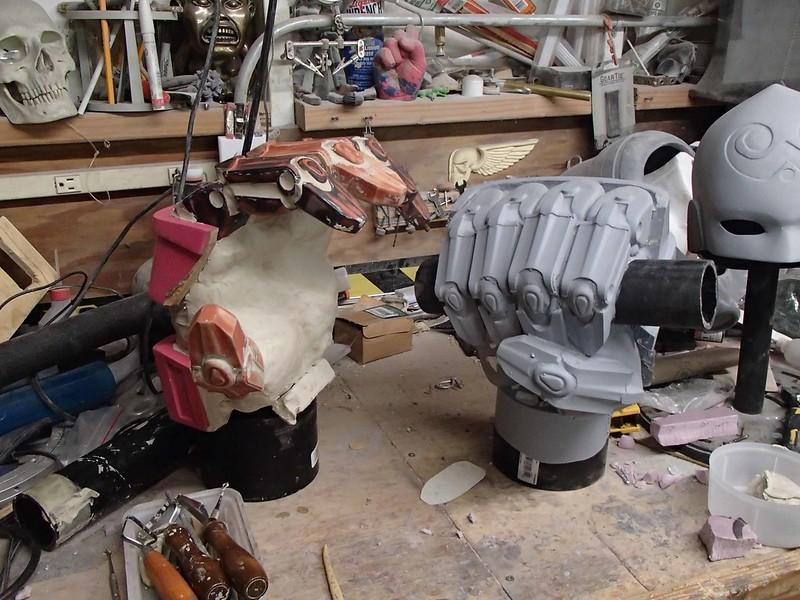 Left Hand Sculpt Progress