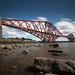 Across the river - Forth bridge, Edinburgh, Scotland