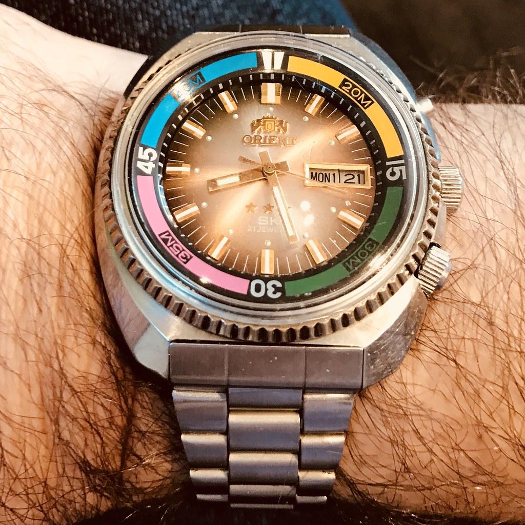 Orient Sea King auto watch
