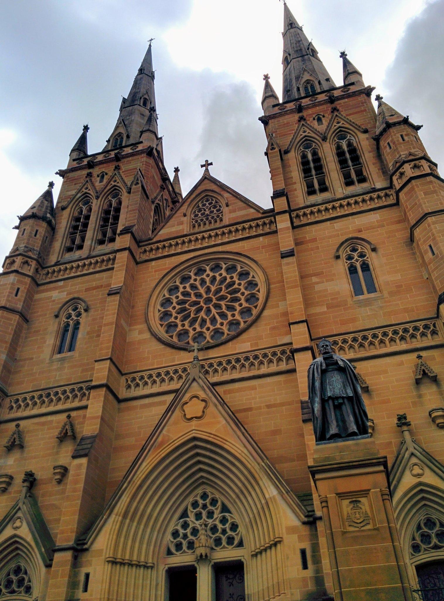 A large, ornate church