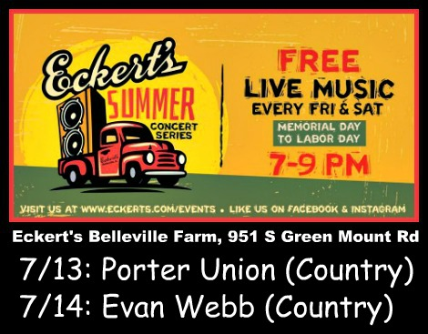 Eckert's Summer Concerts 7-13-18