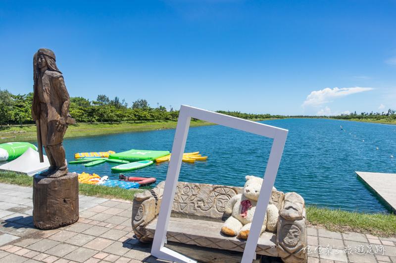 台東森林公園,清澈如鏡的琵琶湖、視野寬闊的活水湖、鷺鷥湖,一起騎著單車暢遊公園湖景,感受東台灣的悠閒與放鬆