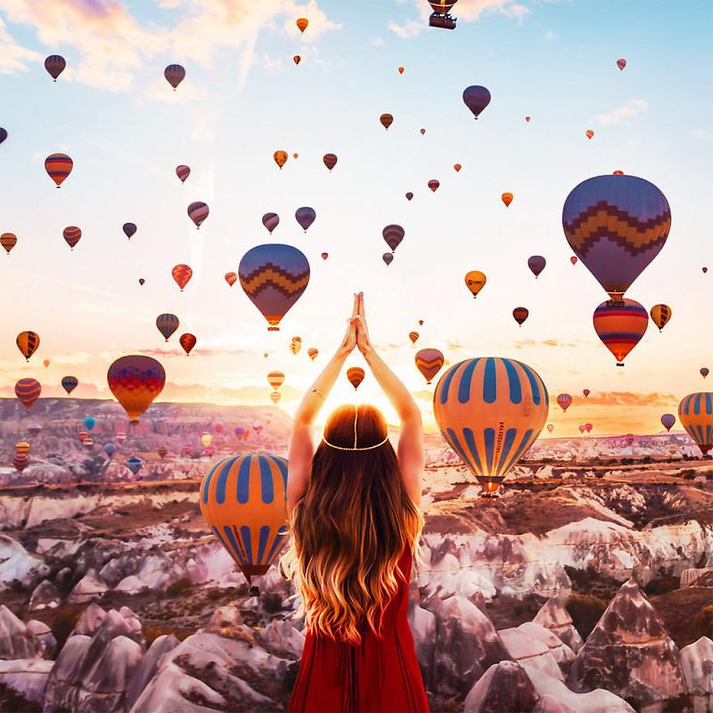 Каппадокия. Воздушные шары.