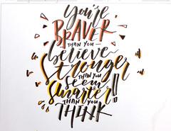 EAS Calligraphy Competition: Yvonne Tsang (4B)