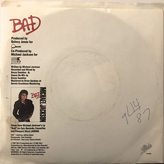 MICHAEL JACKSON:BAD(JACKET B)