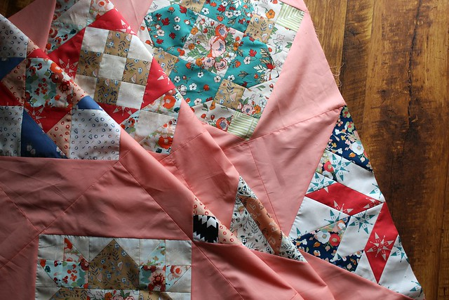 Community Sampler Quilt Top