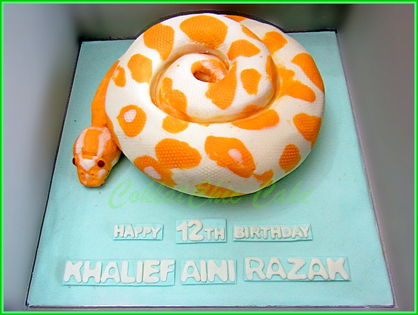 Cake Phyton KHALIEF 18 cm