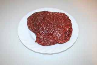01 - Zutat Rinderhackfleisch / Ingredient minced beef