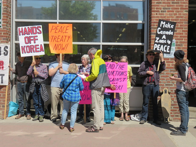 ECAWAR Peace Picket - May 19, 2018