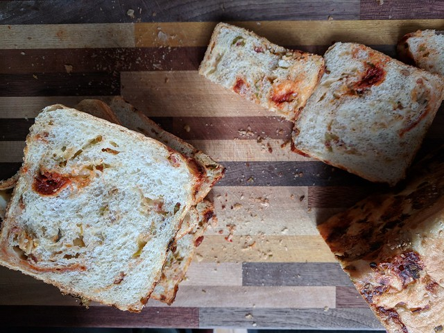 Bacon Kimchi Cheese Pullman Loaf