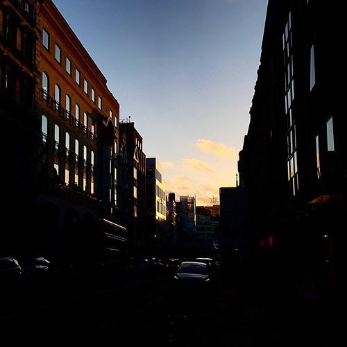 Tramonto a Londra