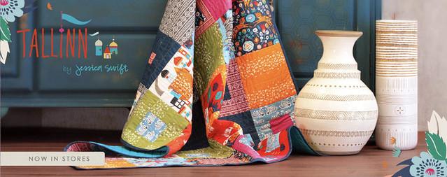 Tallin Fabrics Banner