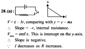 NEET AIPMT Physics Chapter Wise Solutions - Current Electricity explanation 28