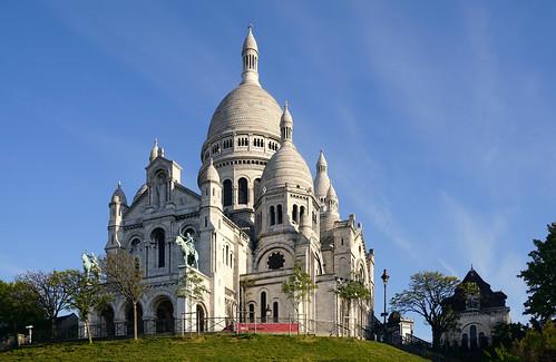 Sacre Coeur Basilica in Montmartre