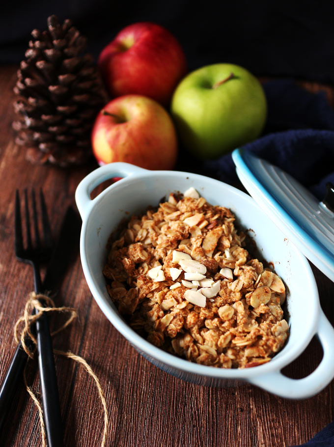 全素烤蘋果奶酥 vegan-apple-crisp (4)