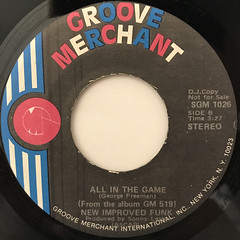 GEORGE FREEMAN:ALL IN THE GAME(LABEL SIDE-B)