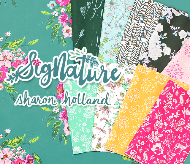 Art Gallery Fabrics Signature Collection by Sharon Holland