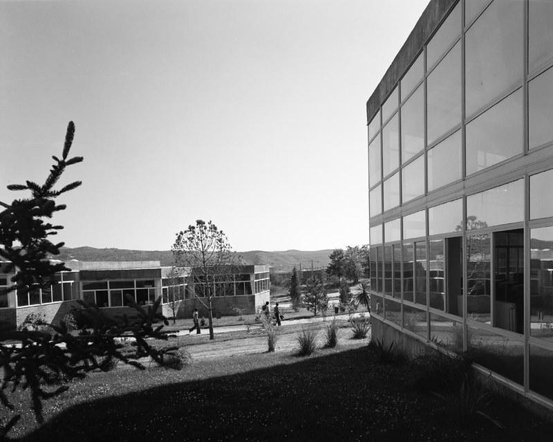 Univeridad Laboral. Fotografía de Juan Miguel Pando Barrero © Fototeca del IPCE signatura PAN-B-027082_P