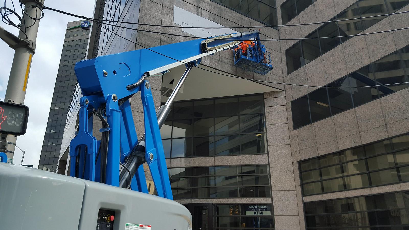 Indianapolis crane