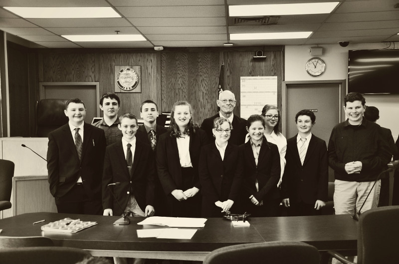 Mock Trial Team @ Mt. Hope Chronicles