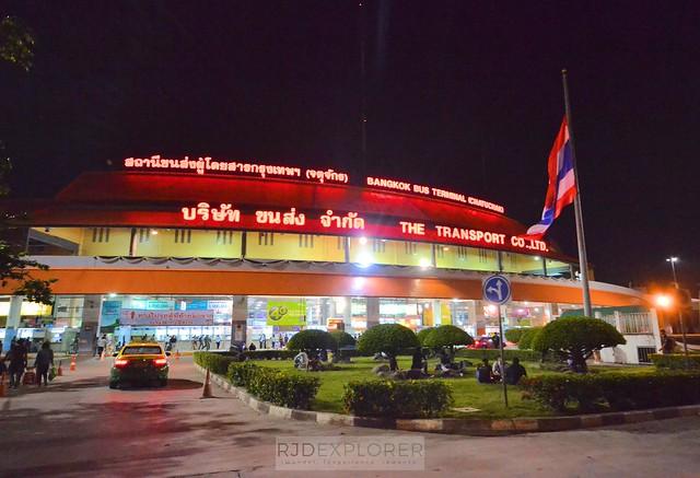 chiang mai itinerary thailand bangkok bus terminal