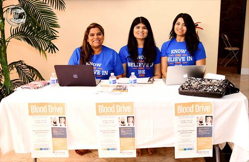 Blood Drive awareness team