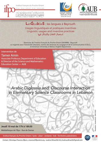 Arabic Diglossia and Discourse Interaction in Elementary Science Classrooms in Lebanon