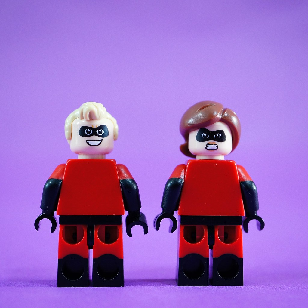 Mr. and Mrs. Incredible Back