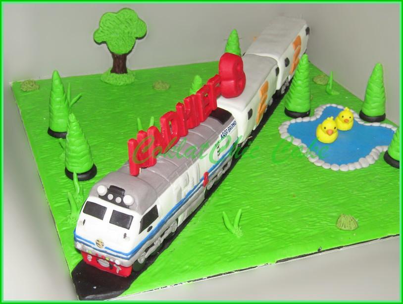 Cake Kereta PT KAI NADHIEF 20 cm