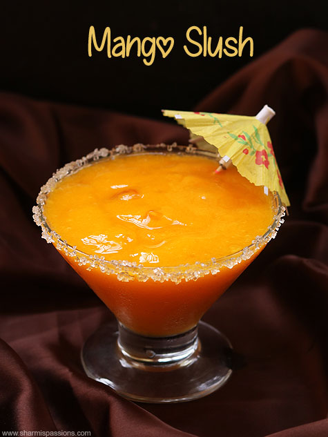 mango slush recipe